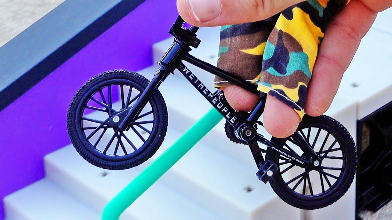 BMX Finger Unboxing Big Ramp   Tech Deck Bmx WeThePeople Black