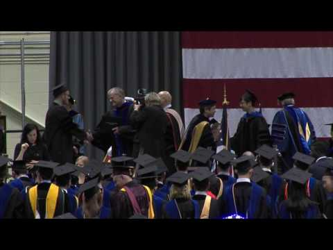 Commencement - Spring 2017 - Graduate Degrees