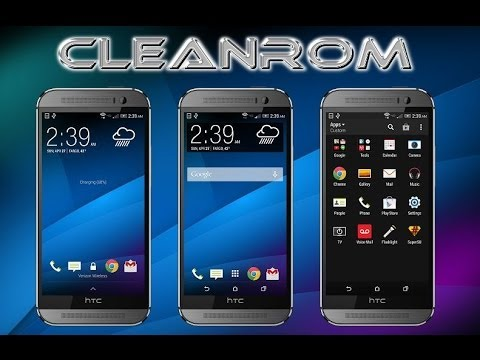Htc One M8 Clean Rom Install Based On The New Ota Youtube
