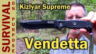 Kizlyar Supreme Vendetta Russian Survival Knife Review