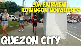 SM CITY FAIRVIEW | ROBINSON NOVALICHES Quezon City Philippines Street Walking