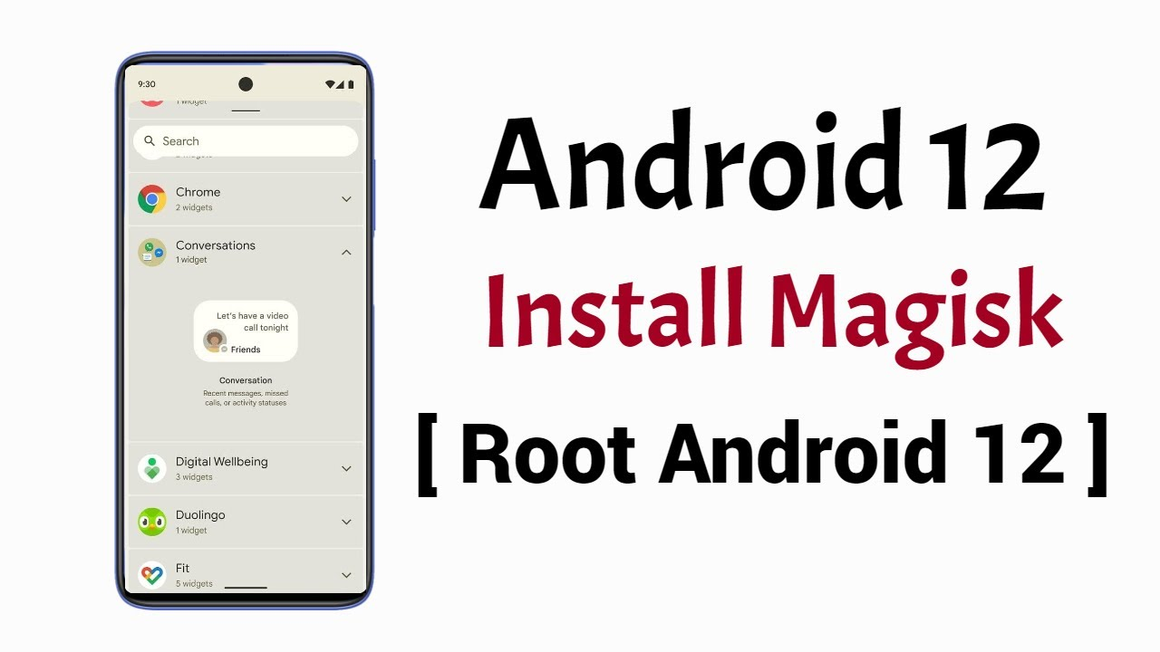 How to Root Android 12 [2 Methods]