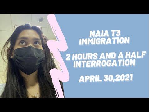 PHILIPPINE IMMIGRATION EXPERIENCE APRIL 30, 2021 / NAIA T3 / MANILA TO MALDIVES / SOLO TRAVELER