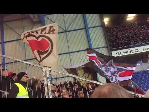 Bielefeld - Fc St.Pauli - 0:5 - top fan support - Gästekurve - 2017