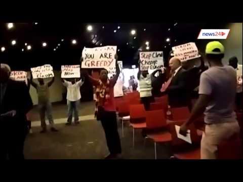Protesters disrupt Nersa Durban Public Hearing