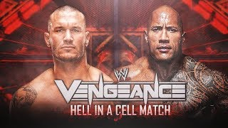 The Rock vs Randy Orton - Hell In A Cell | Vengeance PPV | Match of the Season (1)