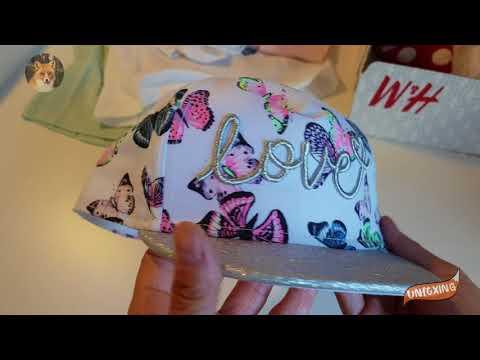 Распаковка посылки с детской одеждой для девочек H&M