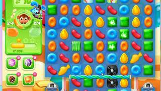 Candy crush jelly saga level 205 No Boosters