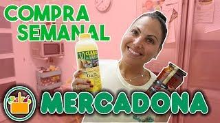 Compra semanal MERCADONA🍍 | Alimentación y perfumería!!!! | Carla Wonderland