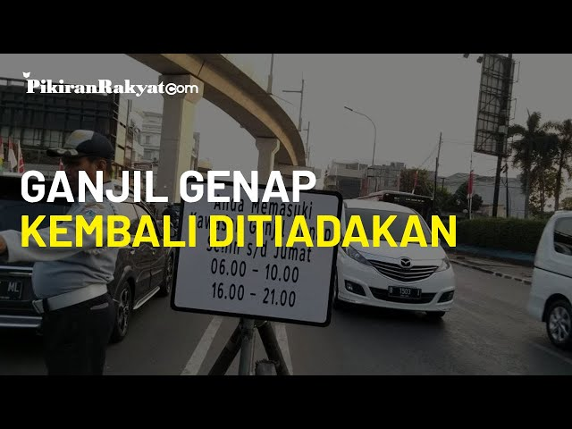 PSBB Jilid 2 Diperpanjang, Aturan Ganjil Genap Kembali Ditiadakan di Jakarta