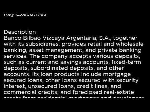 BBVA Banco Bilbao Vizcaya Argentaria, S A  BBVA buy or sell Buffett read basic