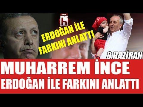 Muharrem İnce Erdoğan ile arasındaki...