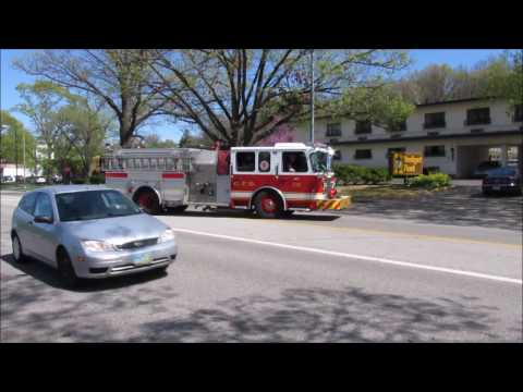 Cincinnati Engine 20 & Medic 19 Responding