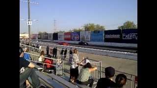 2012 Camaro ZL1 vs. Camaro SS 1/8 Mile Drag Race