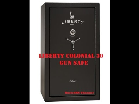 Liberty Colonial 30 Gun Safe