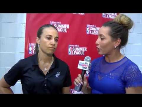 NBA Summer League Interview with Becky Hammon