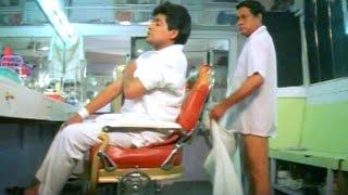 M S Narayana, Ali Hilarious Comedy Scene In Saloon Shop - Venkatesh