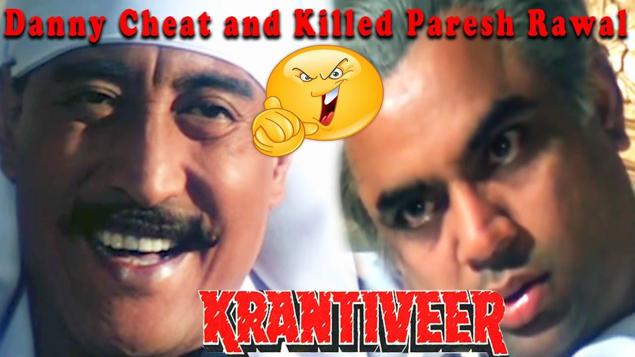 Download Danny Cheat and Killed Paresh Rawal | Krantiveer Movie