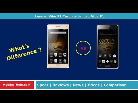 Lenovo Vibe P1 Turbo vs Lenovo Vibe P1 : Similarities and Differences