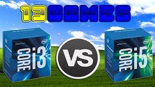 i3 6100 vs i5 6600   gtx 970 oc   1920 x 1080   in 13 games