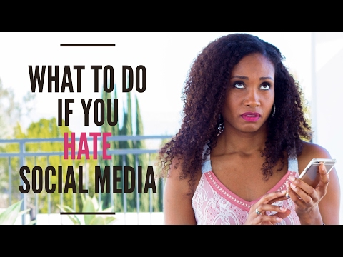 What To Do When You HATE Social Media | Acting Resource Guru