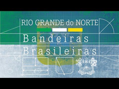 Bandeira do RIO GRANDE do NORTE - Bandeiras Brasileiras