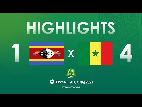 HIGHLIGHTS | #TotalAFCONQ2021 | Round 2 - Group I: Eswatini 1-4 Senegal