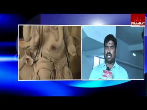 Stambhadri Utsava Committee Awareness On Clay Ganesh Idols In Khammam District