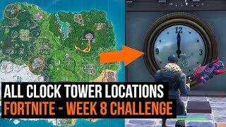 Fortnite Clock Tower Location Guide - Season 9 week 8 challenge