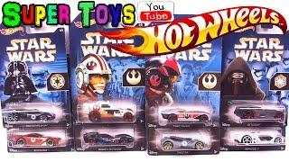 Hot Wheels STAR WARS /Хот Вилс Машинки. Игрушки для мальчиков