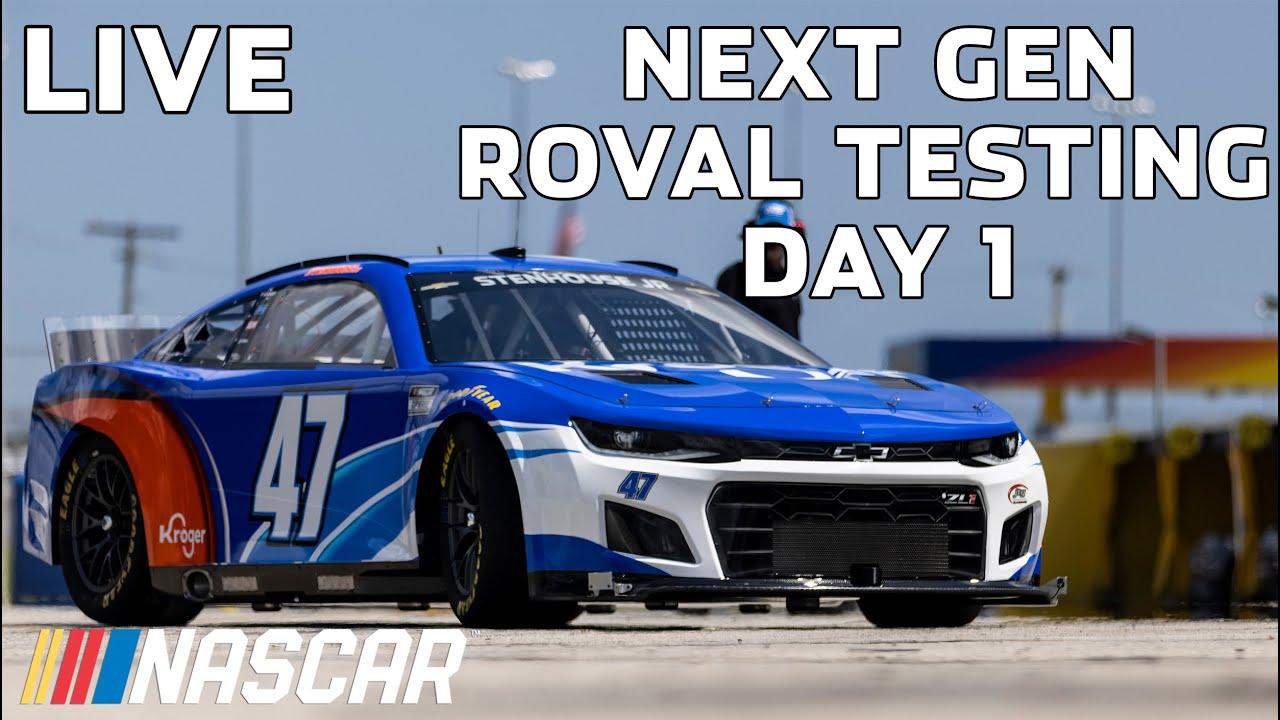 LIVE: Next Gen ROVAL Testing Day 1, 12pm-7pm | NASCAR