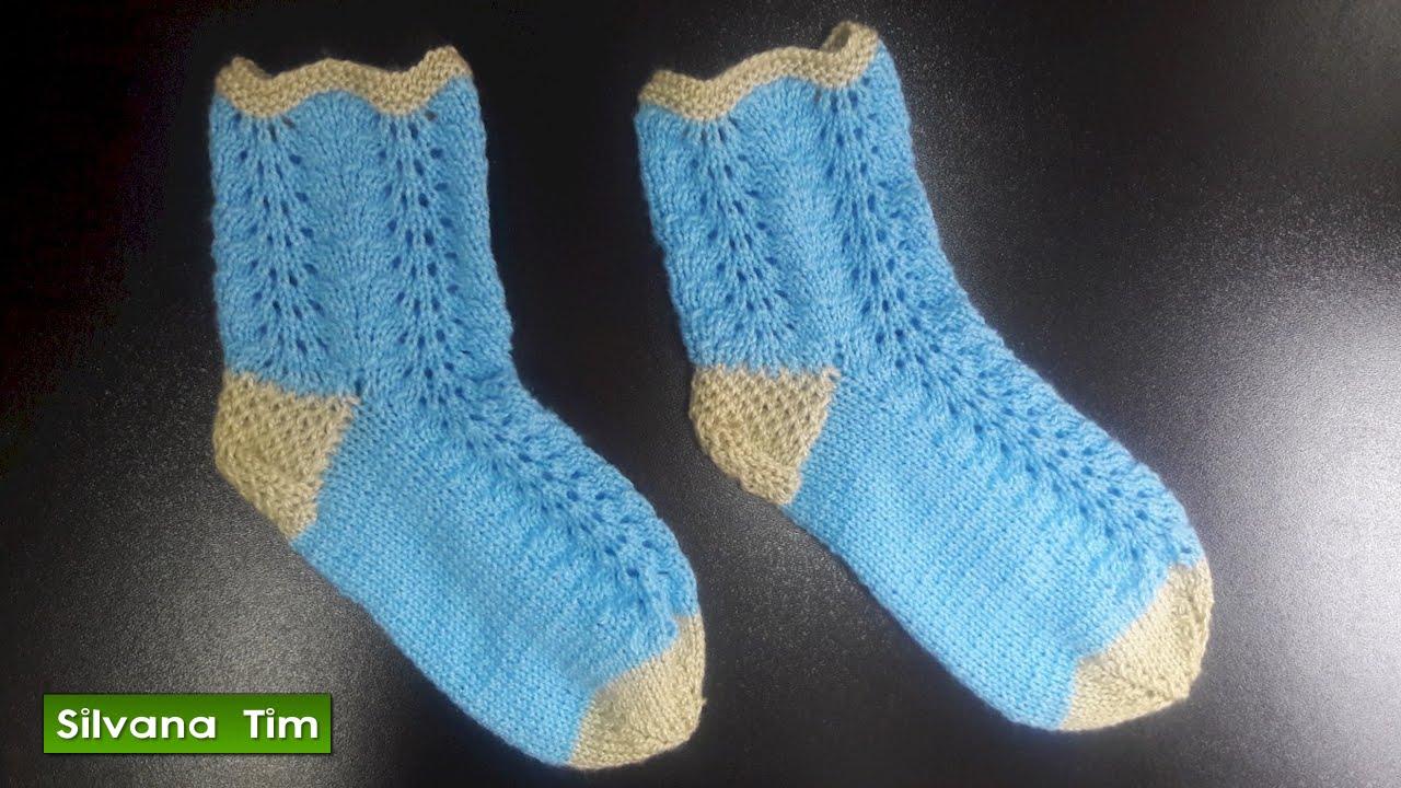 Clase de tejido c mo tejer medias o calcetines con dos - Tejidos en dos agujas paso a paso ...