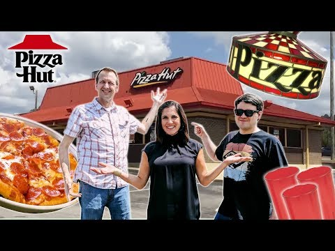 Pizza Hut Super Fans Remember Dine-In Restaurant Experience | Sit Down Review | Well Done