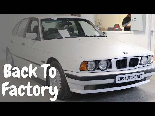 Back To Factory For This BMW E34!