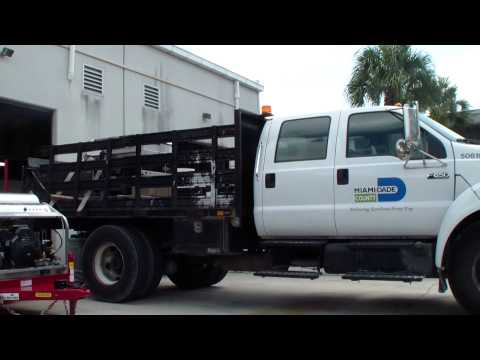 Miami Dade County Picking Up A Diesel Powered Hot Water Pressure Washer & The City Of Tamarac
