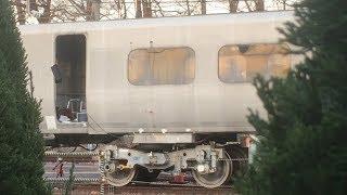 【鉄道総研】特急型試験車両 RT-X13型台車 試験