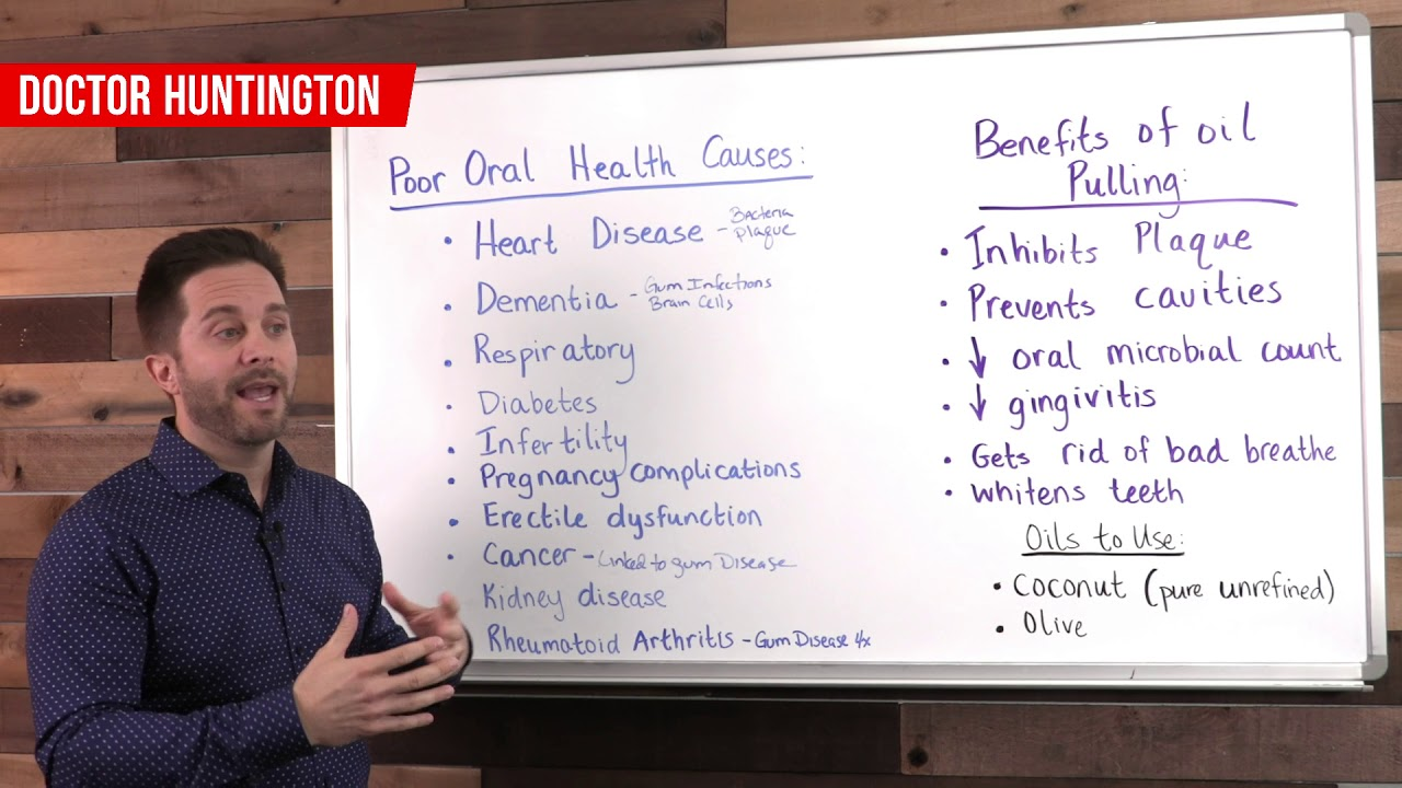 Oil Pulling: Improve The Health Of Your Whole Body