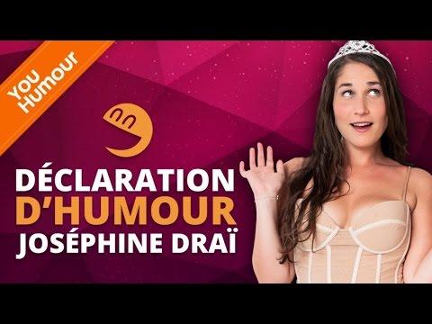 JOSEPHINE DRAI - Déclaration d'Humour