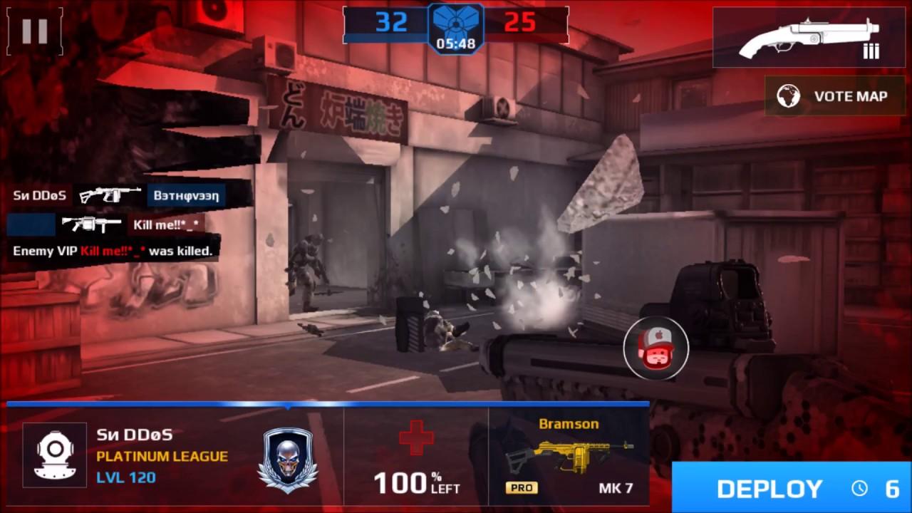 modern combat 5 mod apk unlimited money and gold latest version