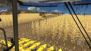Farming Simulator 2015:  Server Corn Harvest Episode 2