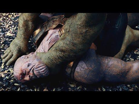 HULK vs. THANOS  - Fight Scene (Wakanda Battle) | AVENGERS: INFINITY WAR Alternate Ending