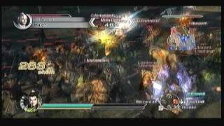 Dynasty Warriors 6: Empires Liu Bei Chaos gameplay