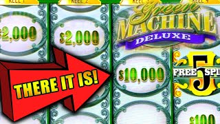 GREEN MACHINE DELUXE ★ MASSIVE JACKPOT & BETS ➜ HIGH LIMIT SLOTS
