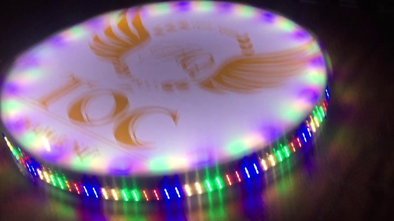 Tự làm biển quảng cáo bằng đèn nháy và nika
