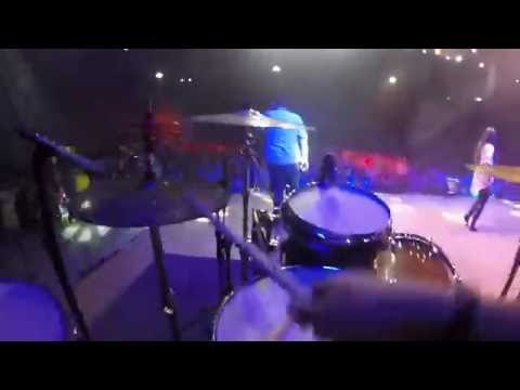 Born To Praise [Planetshakers] Drum cover - GoPro Live