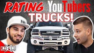 RATING YouTuber's TRUCKS!