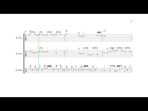 Mega Man 5 (NES) - Gravity Man - Guitar/Bass Tabs + Chords