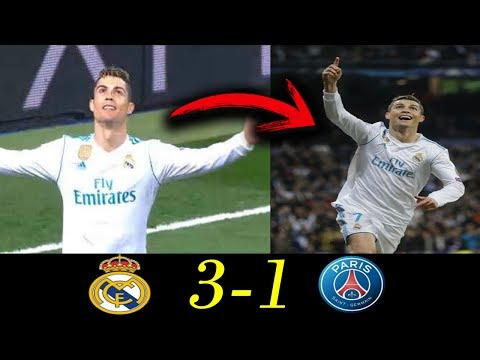 Real Madrid Vs PSG: Partido de Ida (3-1) - Uefa Champions League 2018: Mis impresiones