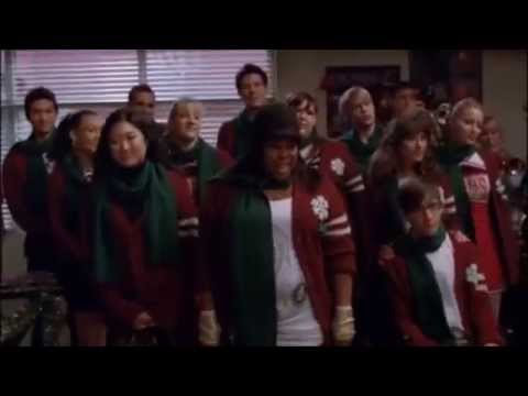 GLEE We Need a Little Christmas Full Performance From A Very Glee Christmas