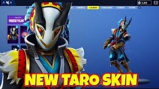 LEAKED NEW TARO SKIN IN-GAME FORTNITE